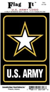 Army Logo Decal Sticker