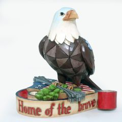 Jim Shore Mini Patriotic Eagle Figurine