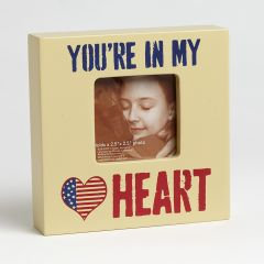 Homefront Girl - You're in My Heart Frame