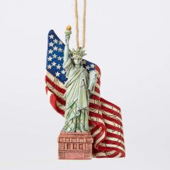 Jim Shore Statue of Liberty Ornament