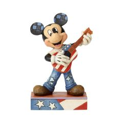 Jim Shore Rock n' Roll Mickey Figurine