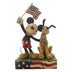 "Jim Shore ""Banner Day"" Figurine"