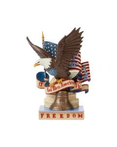 """Jim Shore """"For Love of Country"""" Figurine"""