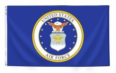 Air Force Seal Flag