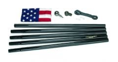 All American Black Flagpole
