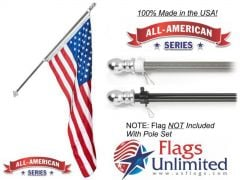All American Flagpole - 6ft.