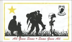 All Gave Some - Some Gave All Flag