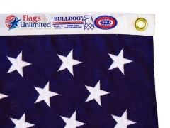 Annin American Flags - Bulldog Cotton Material