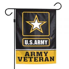 Army Veteran Garden Flag