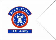 Custom Army Recruiting Guidon