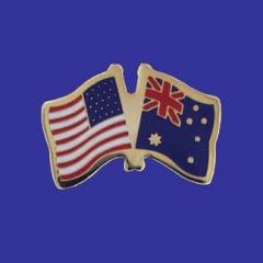 Australia & U.S. Lapel Pin