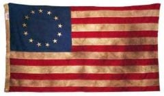 Betsy Ross Vintage/Tea Dyed Flag