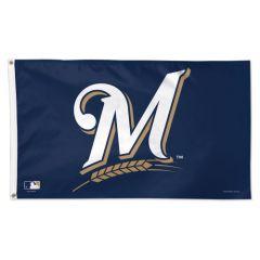 Milwaukee Brewers Logo Flag