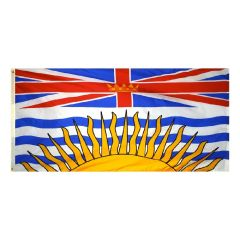 Canadian Province - British Columbia Flag