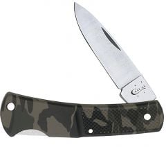 Case Camo Case Caliber Lightweight Synthetic Lockback 00662