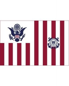 U.S. Coast Guard Ensign Maritime Flag
