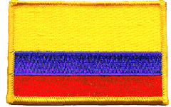 Colombia Flag Patch
