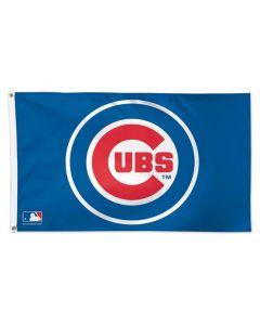 Chicago Cubs Logo Flag
