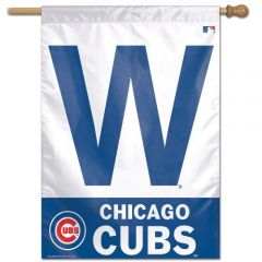 Chicago Cubs Win W Banner