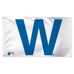 Chicago Cubs Win W Flag
