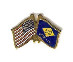 Delaware & U.S. Lapel Pin