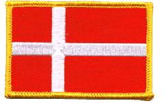 Denmark Flag Patch