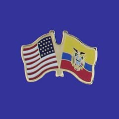 Ecuador & U.S. Lapel Pin
