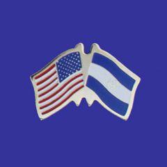 El Salvador & U.S. Lapel Pin