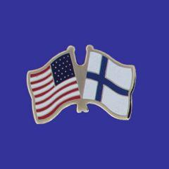 Finland & U.S. Lapel Pin