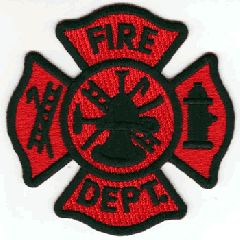 Firefighter Flag Patch