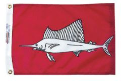 Fish Flag - Sailfish Design
