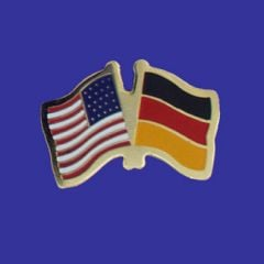 Germany & U.S. Lapel Pin