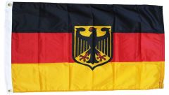 Germany With Eagle Flag