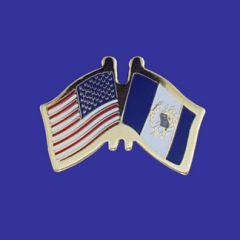 Guatemala & U.S. Lapel Pin