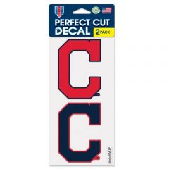 Cleveland Indians 2-Pack Decals