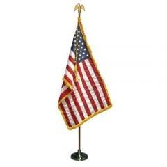 U.S. Indoor American Flag Presentation Sets