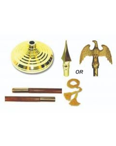 Indoor Mounting Set With Eagle OR Spear Top