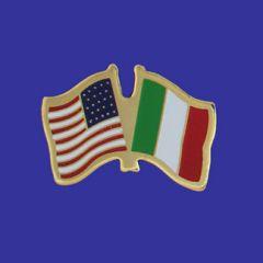 Italy & U.S. Lapel Pin