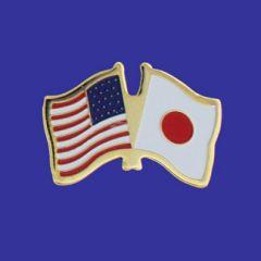 Japan & U.S. Lapel Pin