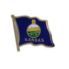 Kansas Lapel Pin