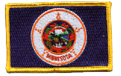 Minnesota Flag Patch