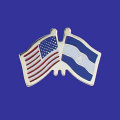 Nicaragua & U.S. Lapel Pin
