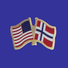 Norway & U.S. Lapel Pin