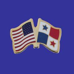 Panama & U.S. Lapel Pin