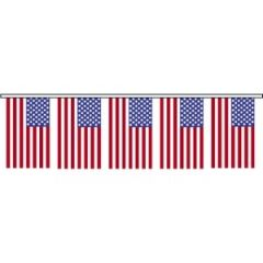 USA Flag Pennant String