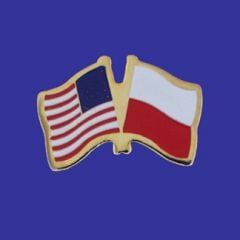 Poland & U.S. Lapel Pin