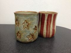 Patriotic Pottery - Luminary