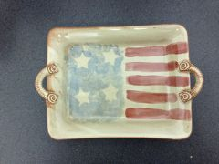 Patriotic Pottery - Tray
