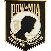 POW/MIA Lapel Pin
