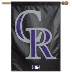 """Colorado Rockies Banner 28""""x40"""""""